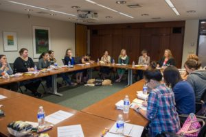 2016 WiSE FPP Postdoc panel discussion room photo