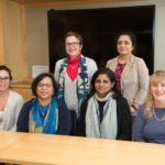 2017 Priyamvada Natarajan and WiSE Faculty group photo