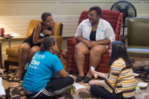 Fall Welcome Women of Color Small Group 2016