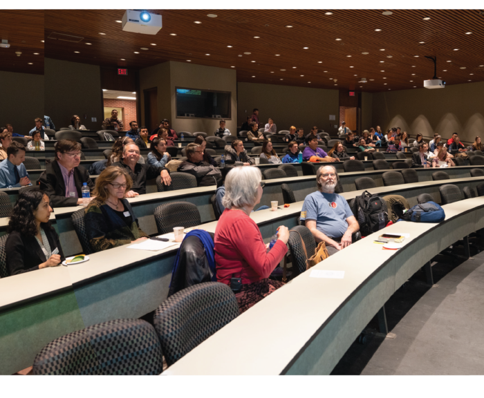 Photo of Holmes Lecture