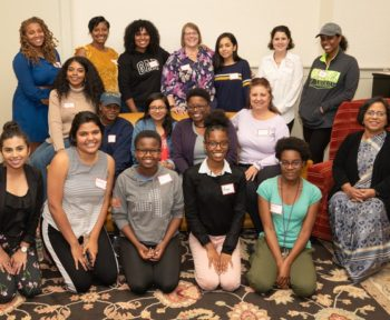 WiSE Women of Color in STEM group photo