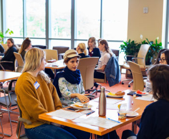 Women participate in WiSE-FPP welcome and orientation