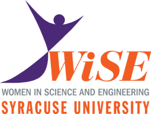 WiSE logo with purple lady